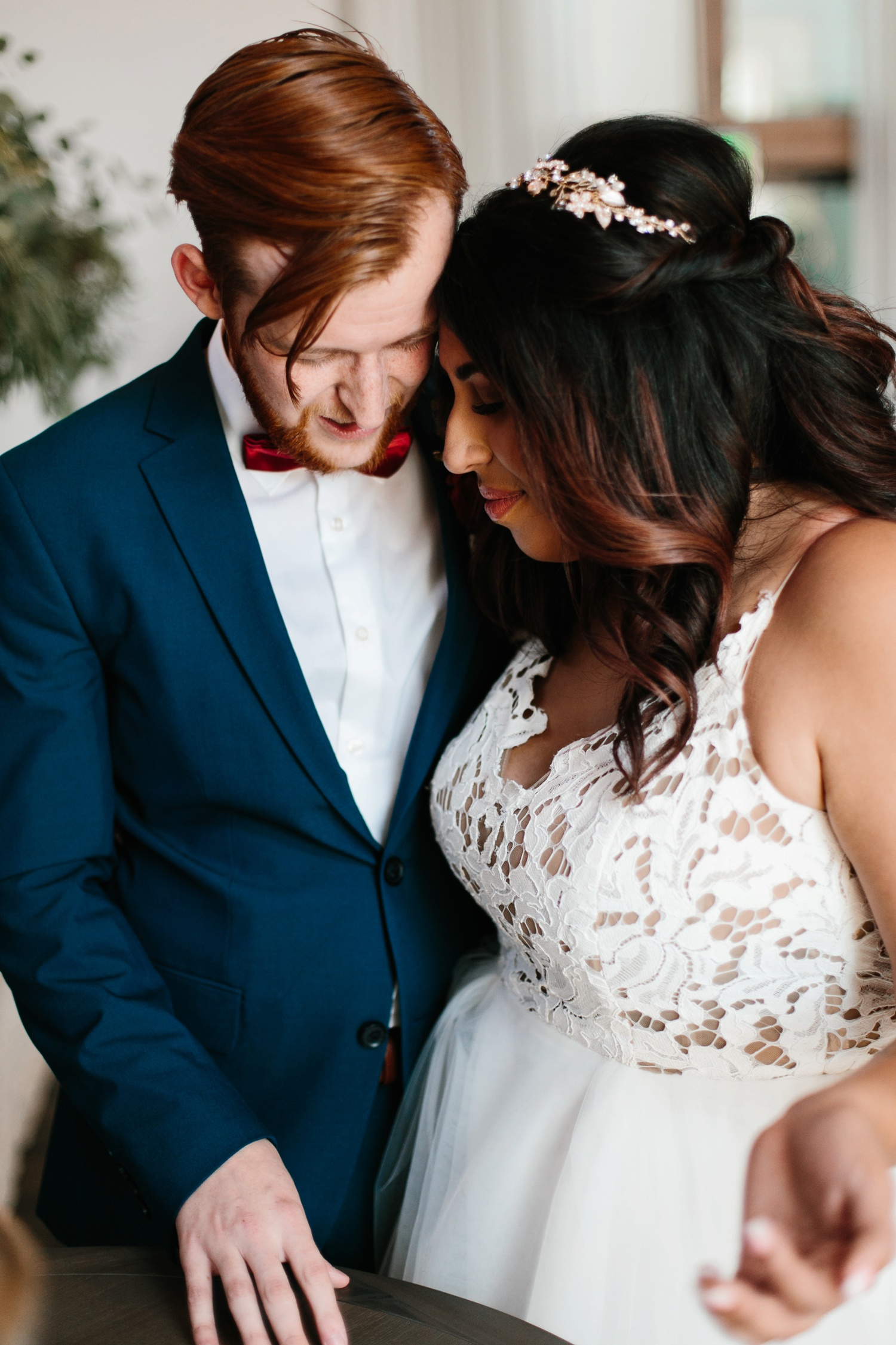 Grant + Lysette | a vibrant, deep burgundy and navy, and mixed metals wedding at Hidden Pines Chapel by North Texas Wedding Photographer Rachel Meagan Photography 101