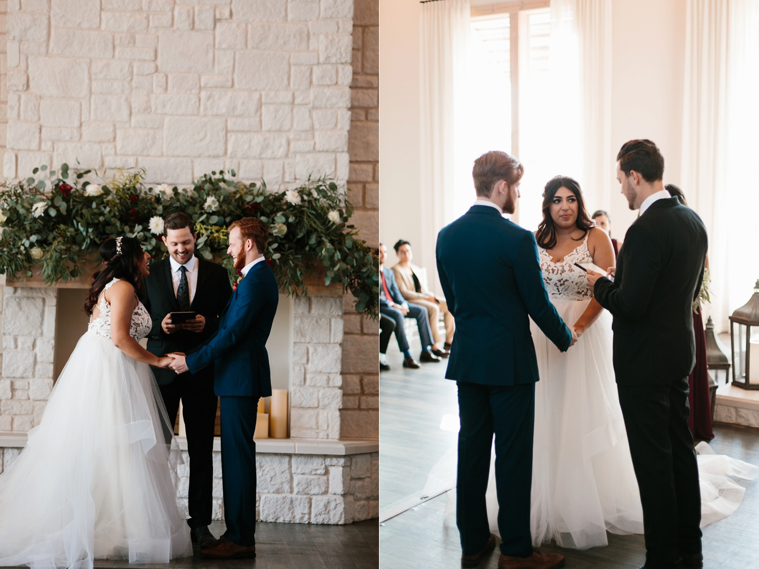 Grant + Lysette | a vibrant, deep burgundy and navy, and mixed metals wedding at Hidden Pines Chapel by North Texas Wedding Photographer Rachel Meagan Photography 102