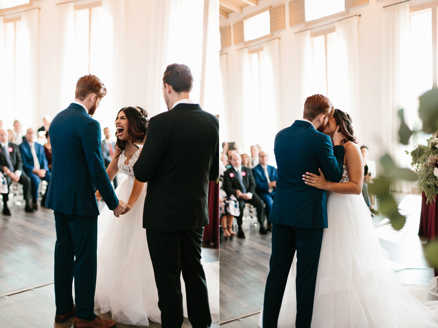 Grant + Lysette | a vibrant, deep burgundy and navy, and mixed metals wedding at Hidden Pines Chapel by North Texas Wedding Photographer Rachel Meagan Photography 107