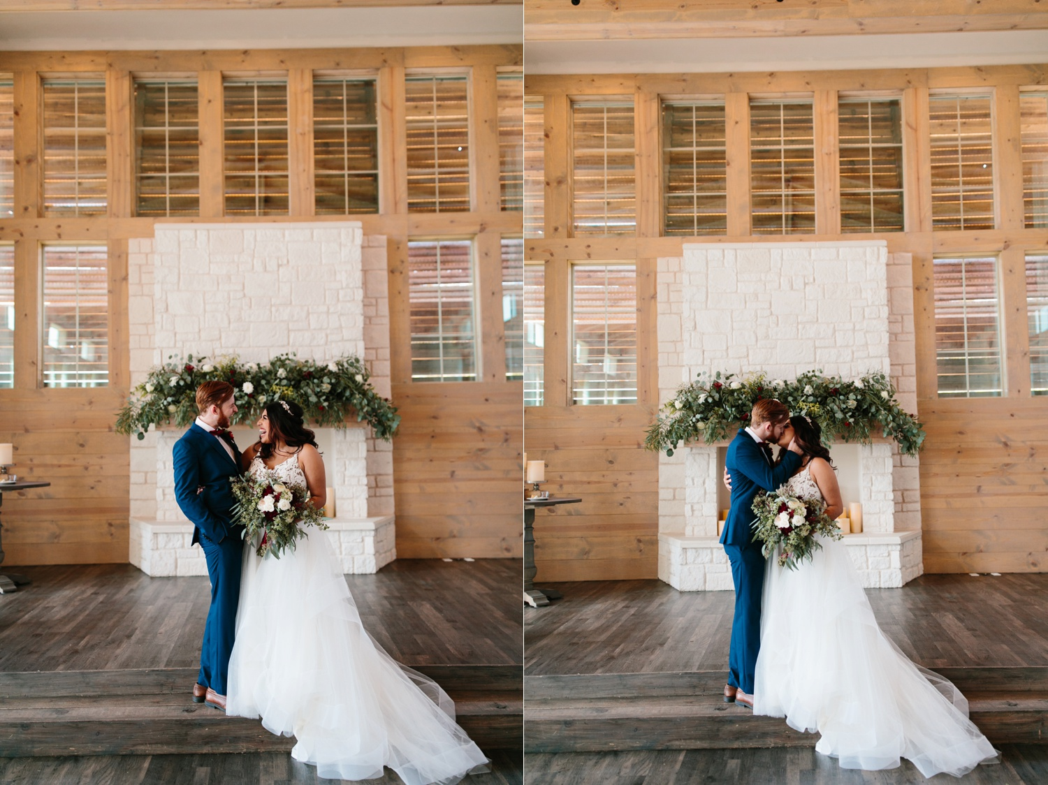 Grant + Lysette | a vibrant, deep burgundy and navy, and mixed metals wedding at Hidden Pines Chapel by North Texas Wedding Photographer Rachel Meagan Photography 127