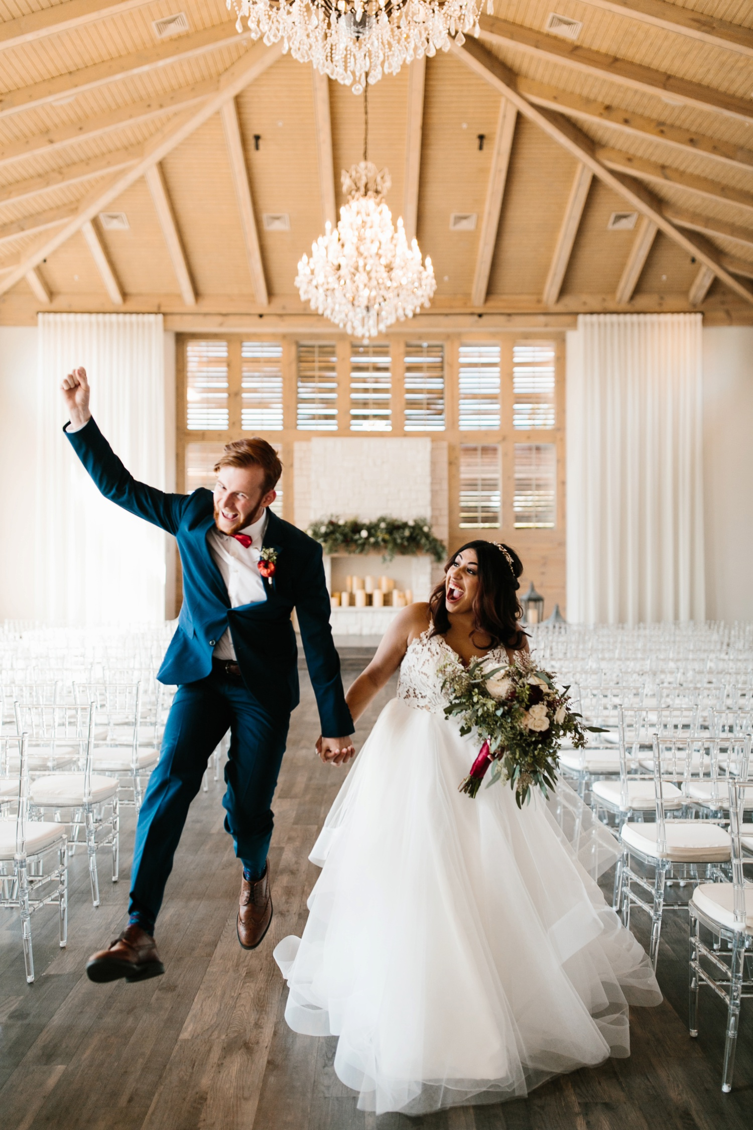 Grant + Lysette | a vibrant, deep burgundy and navy, and mixed metals wedding at Hidden Pines Chapel by North Texas Wedding Photographer Rachel Meagan Photography 128