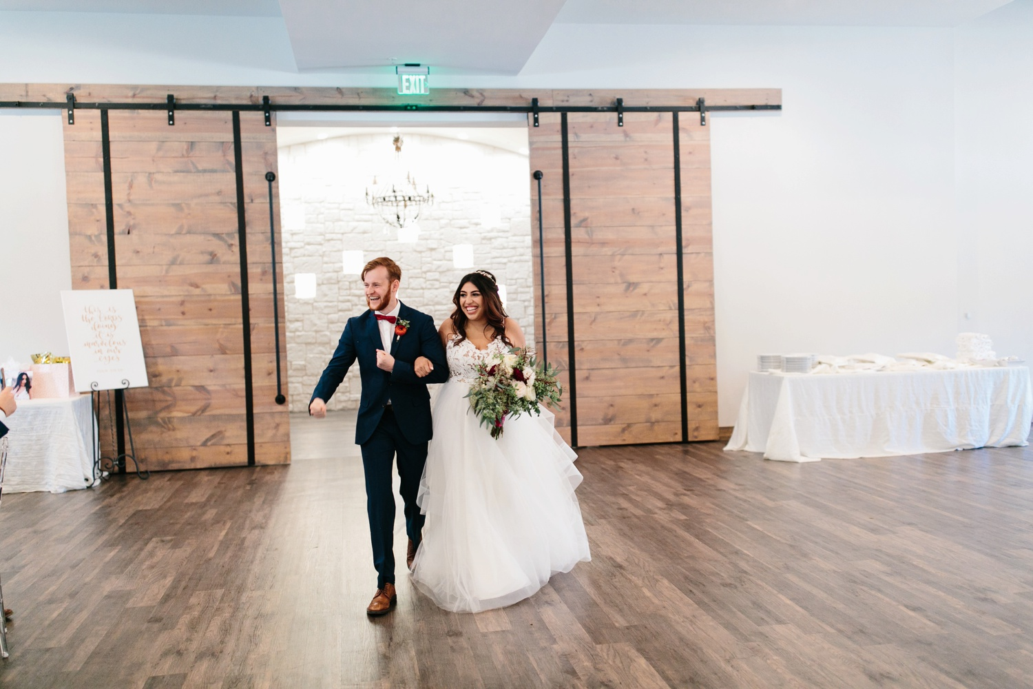 Grant + Lysette | a vibrant, deep burgundy and navy, and mixed metals wedding at Hidden Pines Chapel by North Texas Wedding Photographer Rachel Meagan Photography 131