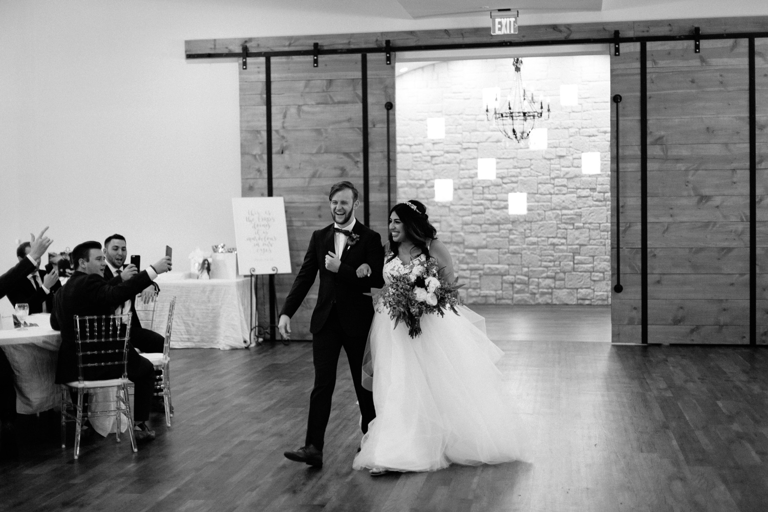 Grant + Lysette | a vibrant, deep burgundy and navy, and mixed metals wedding at Hidden Pines Chapel by North Texas Wedding Photographer Rachel Meagan Photography 132