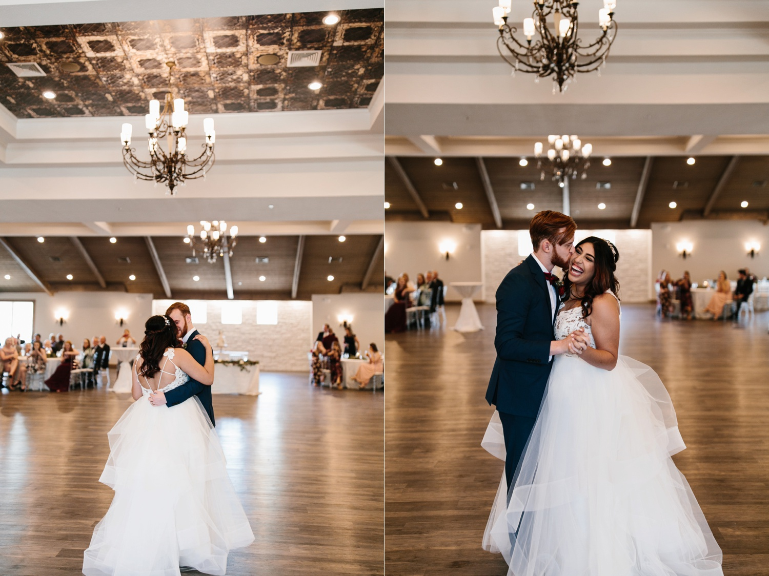 Grant + Lysette | a vibrant, deep burgundy and navy, and mixed metals wedding at Hidden Pines Chapel by North Texas Wedding Photographer Rachel Meagan Photography 133