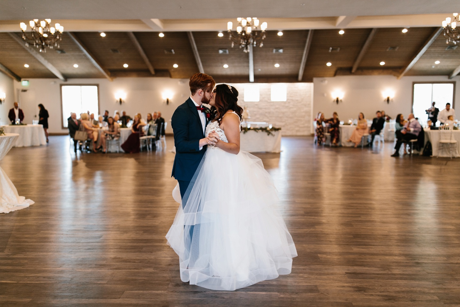 Grant + Lysette | a vibrant, deep burgundy and navy, and mixed metals wedding at Hidden Pines Chapel by North Texas Wedding Photographer Rachel Meagan Photography 135