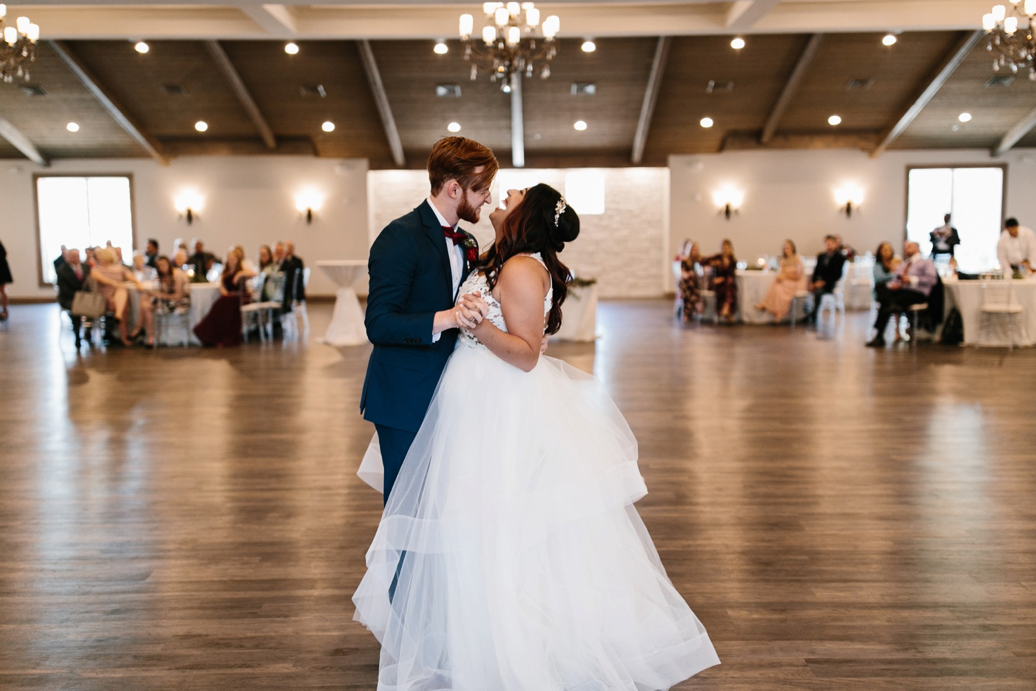 Grant + Lysette | a vibrant, deep burgundy and navy, and mixed metals wedding at Hidden Pines Chapel by North Texas Wedding Photographer Rachel Meagan Photography 136
