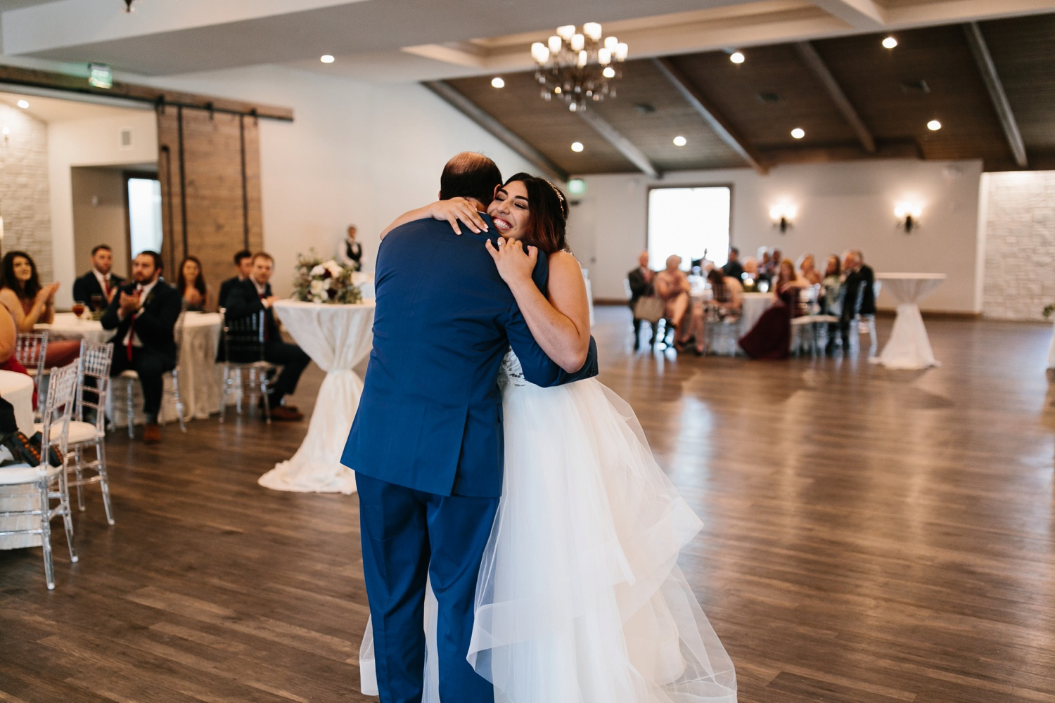 Grant + Lysette | a vibrant, deep burgundy and navy, and mixed metals wedding at Hidden Pines Chapel by North Texas Wedding Photographer Rachel Meagan Photography 139
