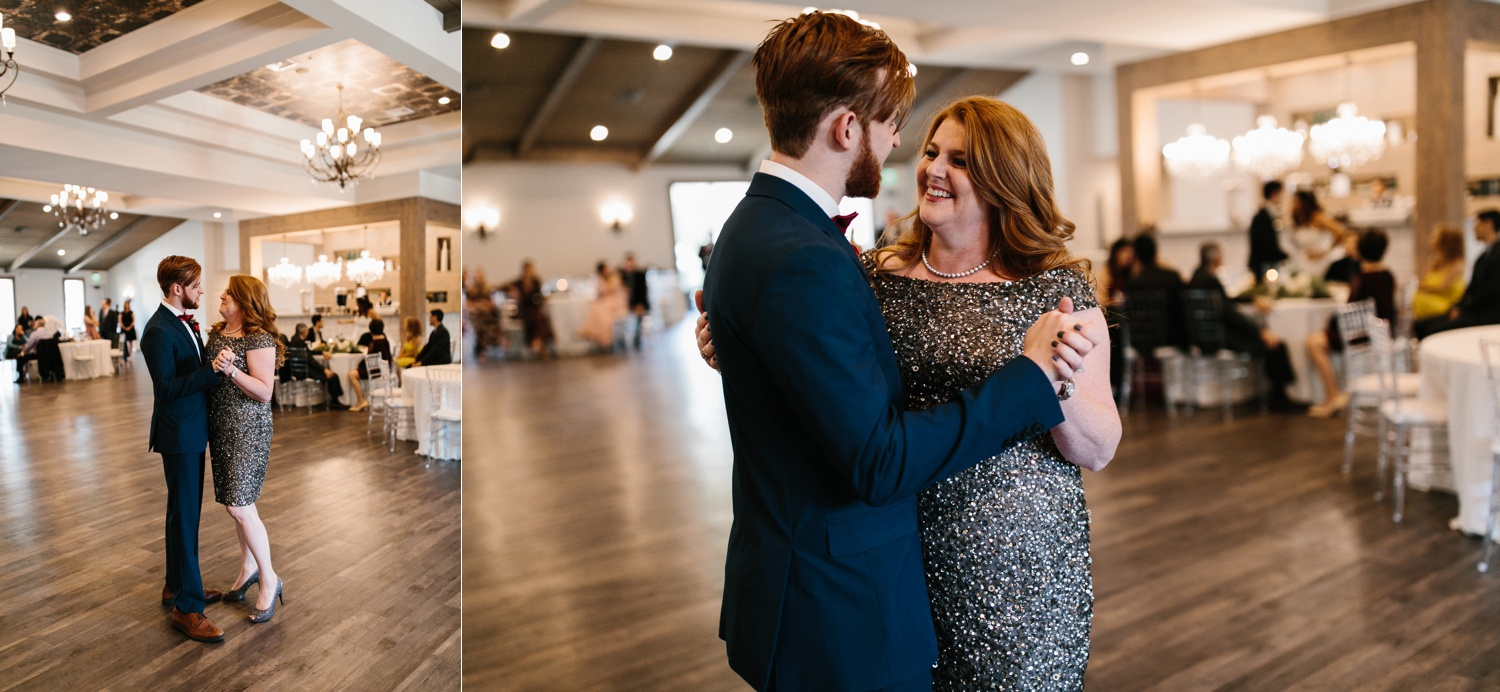 Grant + Lysette | a vibrant, deep burgundy and navy, and mixed metals wedding at Hidden Pines Chapel by North Texas Wedding Photographer Rachel Meagan Photography 141