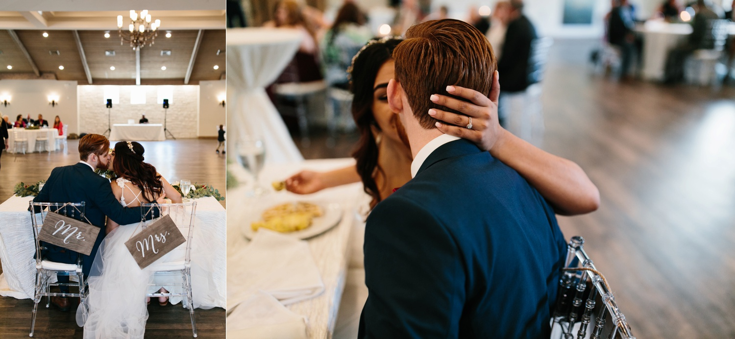 Grant + Lysette | a vibrant, deep burgundy and navy, and mixed metals wedding at Hidden Pines Chapel by North Texas Wedding Photographer Rachel Meagan Photography 143