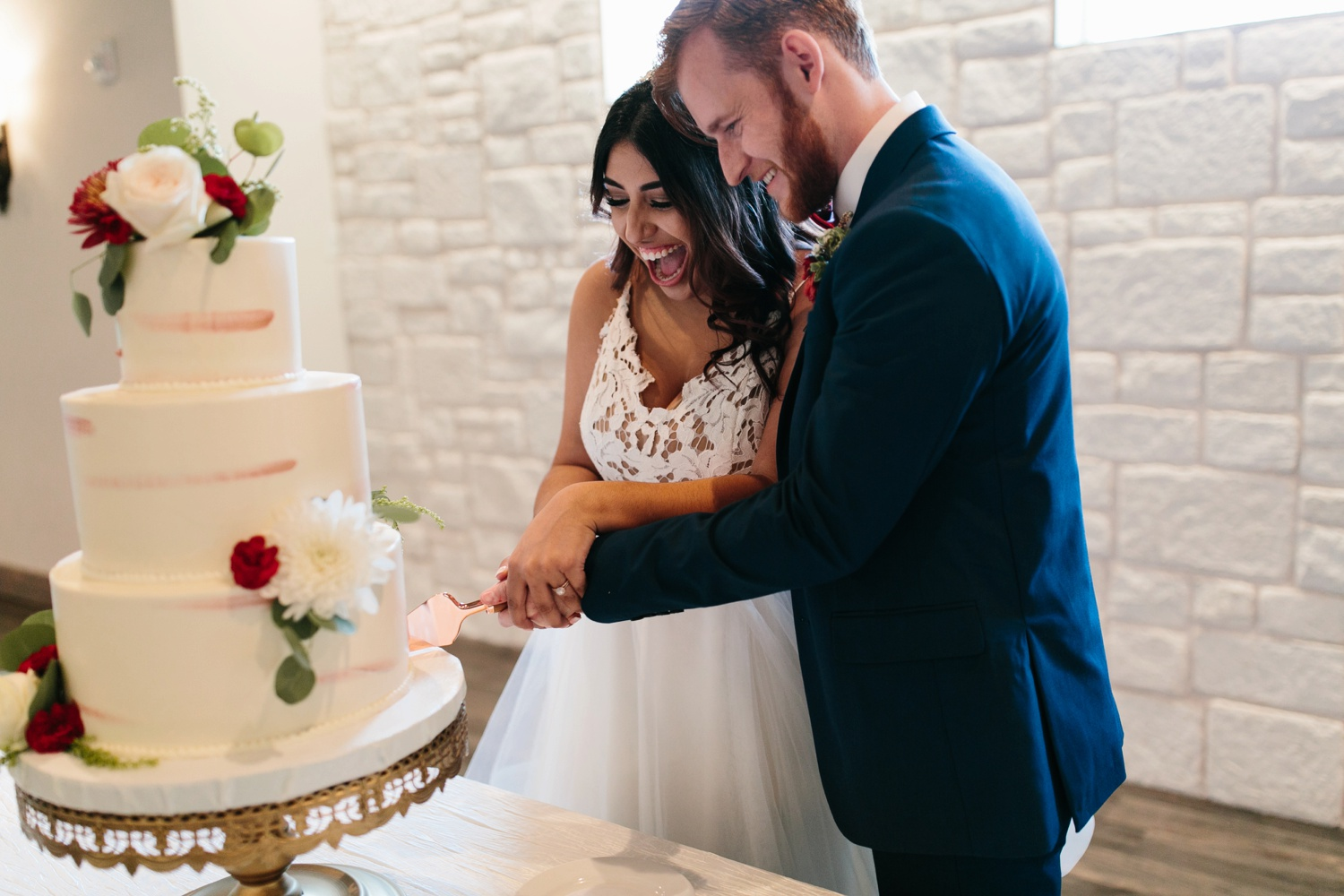 Grant + Lysette | a vibrant, deep burgundy and navy, and mixed metals wedding at Hidden Pines Chapel by North Texas Wedding Photographer Rachel Meagan Photography 146