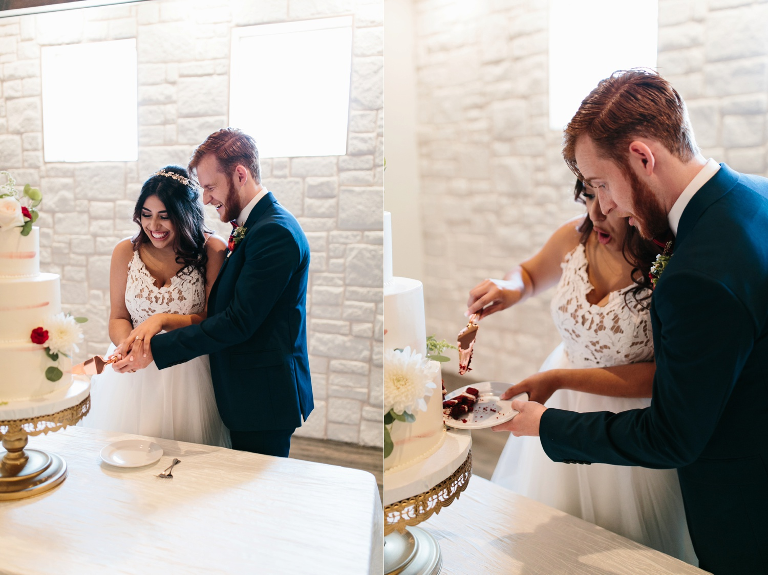 Grant + Lysette | a vibrant, deep burgundy and navy, and mixed metals wedding at Hidden Pines Chapel by North Texas Wedding Photographer Rachel Meagan Photography 147