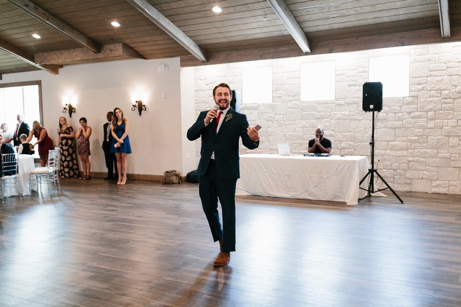 Grant + Lysette | a vibrant, deep burgundy and navy, and mixed metals wedding at Hidden Pines Chapel by North Texas Wedding Photographer Rachel Meagan Photography 148