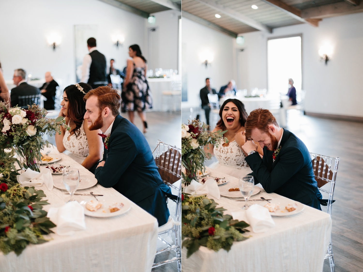Grant + Lysette | a vibrant, deep burgundy and navy, and mixed metals wedding at Hidden Pines Chapel by North Texas Wedding Photographer Rachel Meagan Photography 149