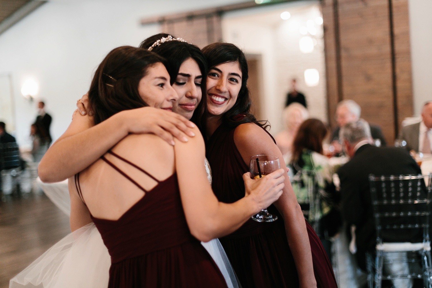 Grant + Lysette | a vibrant, deep burgundy and navy, and mixed metals wedding at Hidden Pines Chapel by North Texas Wedding Photographer Rachel Meagan Photography 157