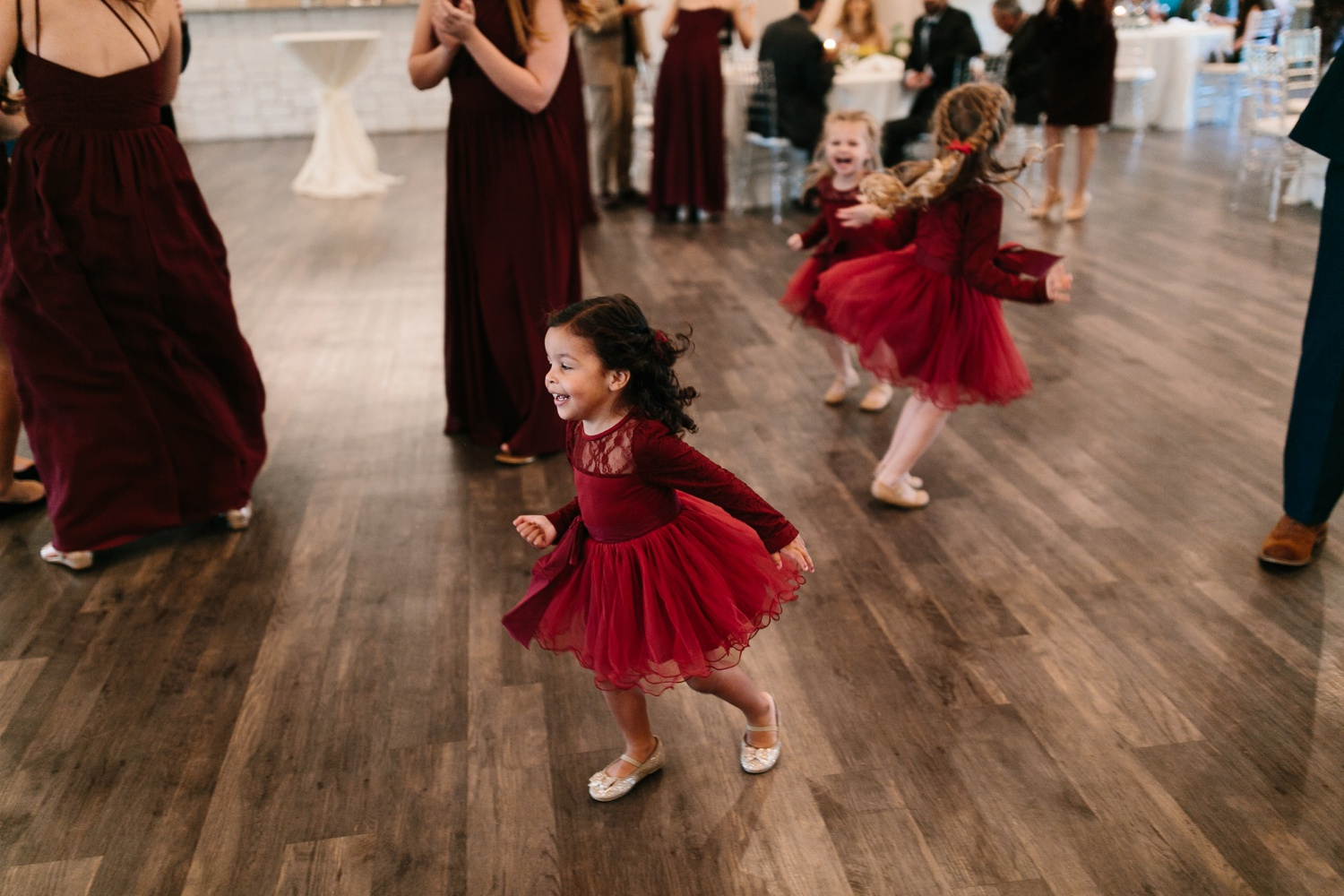 Grant + Lysette | a vibrant, deep burgundy and navy, and mixed metals wedding at Hidden Pines Chapel by North Texas Wedding Photographer Rachel Meagan Photography 158