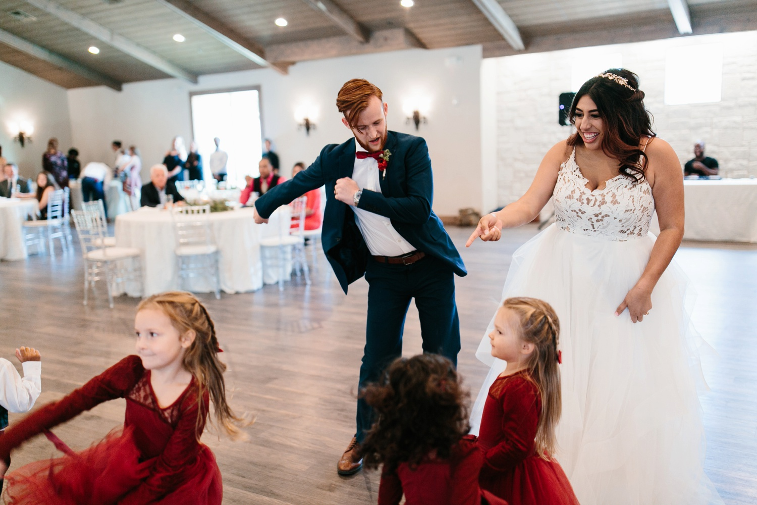 Grant + Lysette | a vibrant, deep burgundy and navy, and mixed metals wedding at Hidden Pines Chapel by North Texas Wedding Photographer Rachel Meagan Photography 159