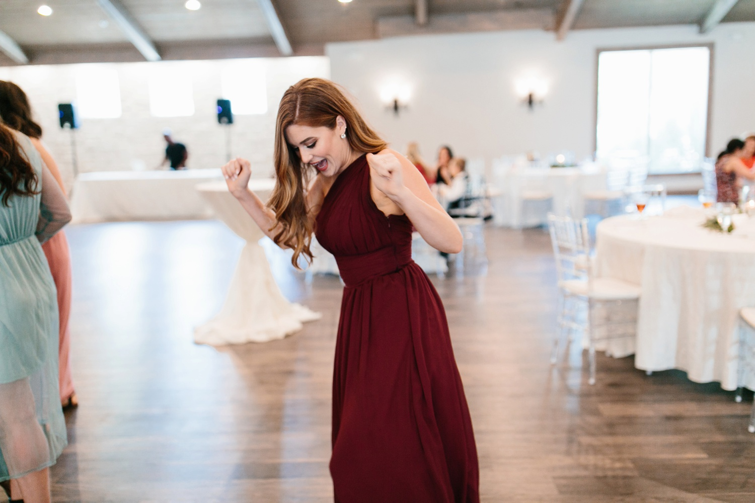 Grant + Lysette | a vibrant, deep burgundy and navy, and mixed metals wedding at Hidden Pines Chapel by North Texas Wedding Photographer Rachel Meagan Photography 161