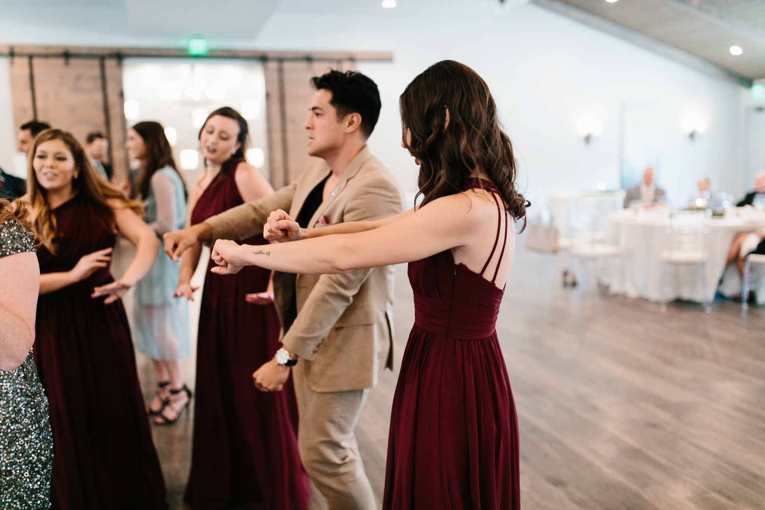 Grant + Lysette | a vibrant, deep burgundy and navy, and mixed metals wedding at Hidden Pines Chapel by North Texas Wedding Photographer Rachel Meagan Photography 163