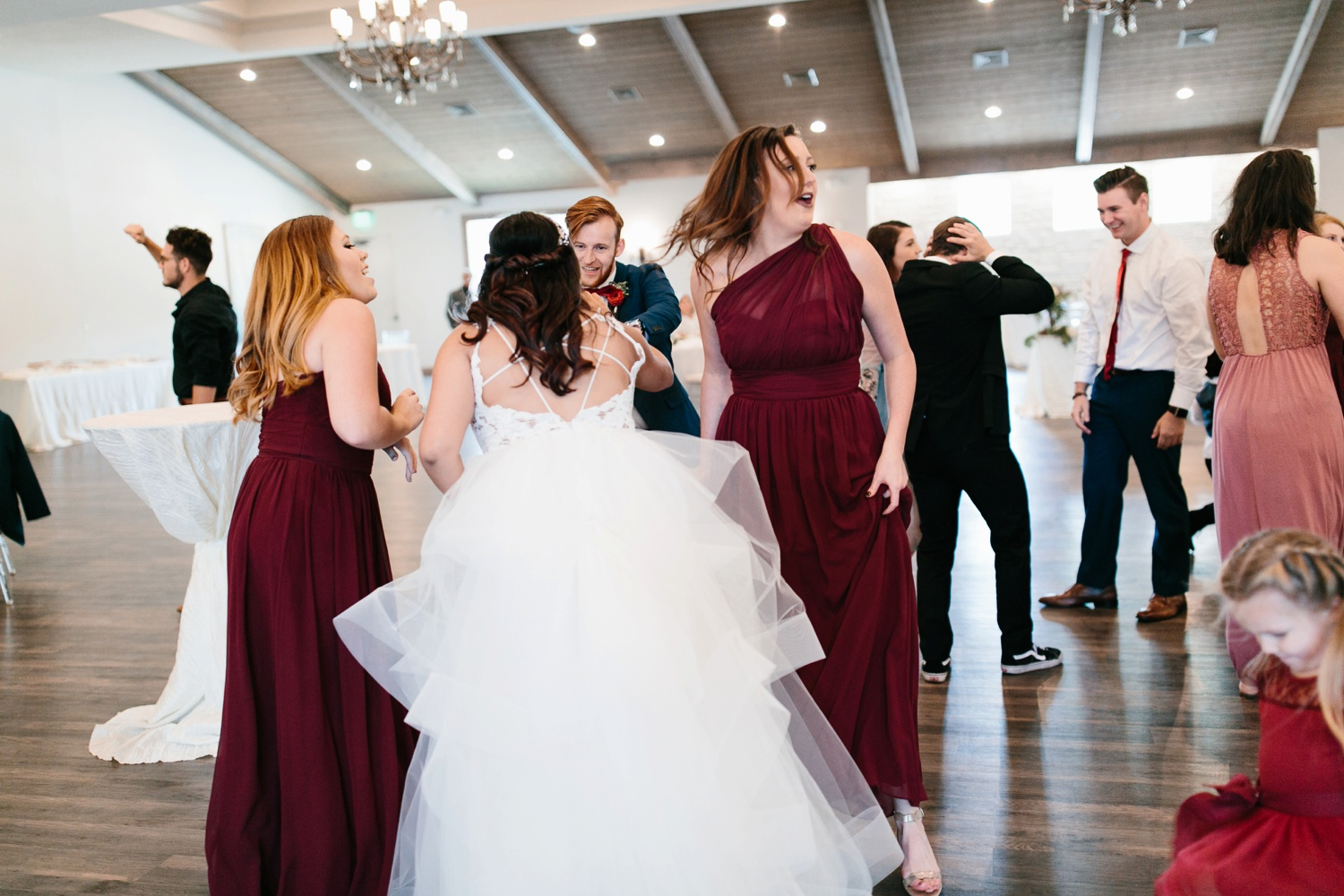 Grant + Lysette | a vibrant, deep burgundy and navy, and mixed metals wedding at Hidden Pines Chapel by North Texas Wedding Photographer Rachel Meagan Photography 166