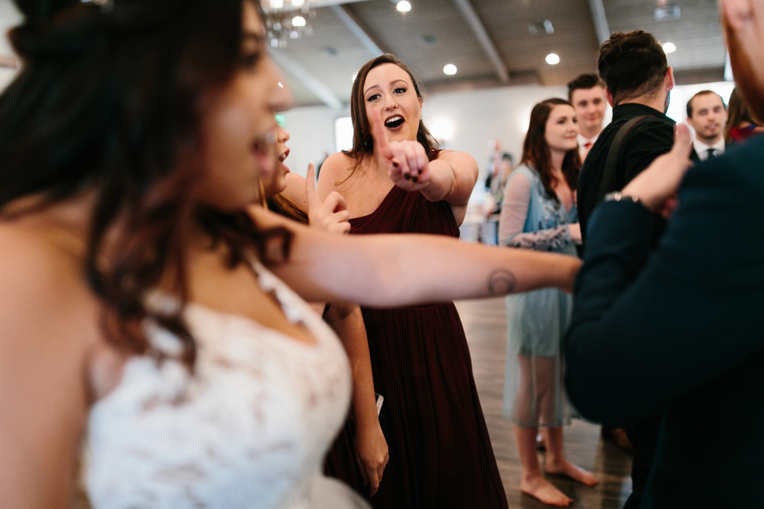 Grant + Lysette | a vibrant, deep burgundy and navy, and mixed metals wedding at Hidden Pines Chapel by North Texas Wedding Photographer Rachel Meagan Photography 167