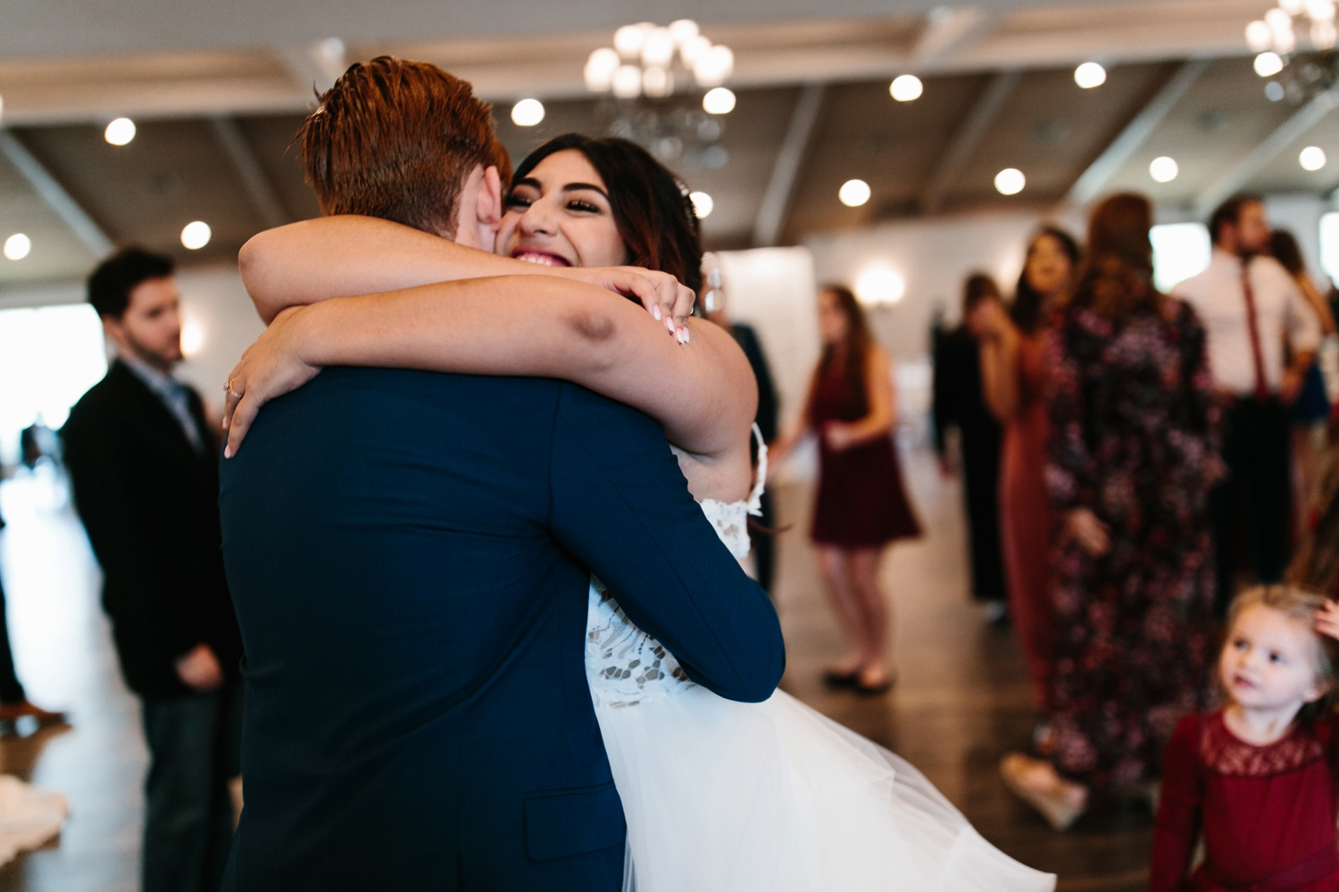 Grant + Lysette | a vibrant, deep burgundy and navy, and mixed metals wedding at Hidden Pines Chapel by North Texas Wedding Photographer Rachel Meagan Photography 168