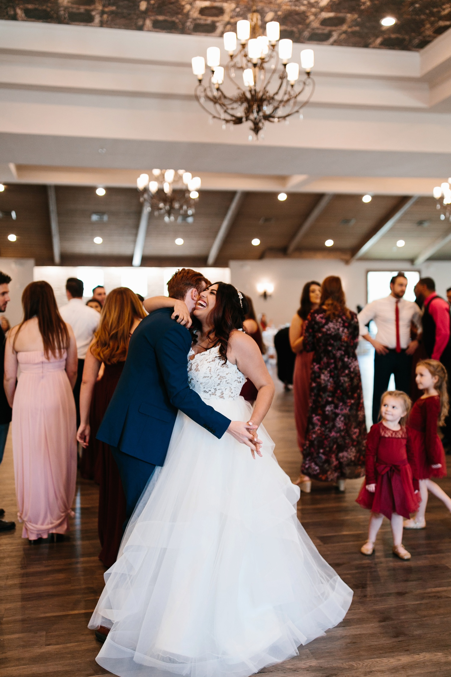 Grant + Lysette | a vibrant, deep burgundy and navy, and mixed metals wedding at Hidden Pines Chapel by North Texas Wedding Photographer Rachel Meagan Photography 169