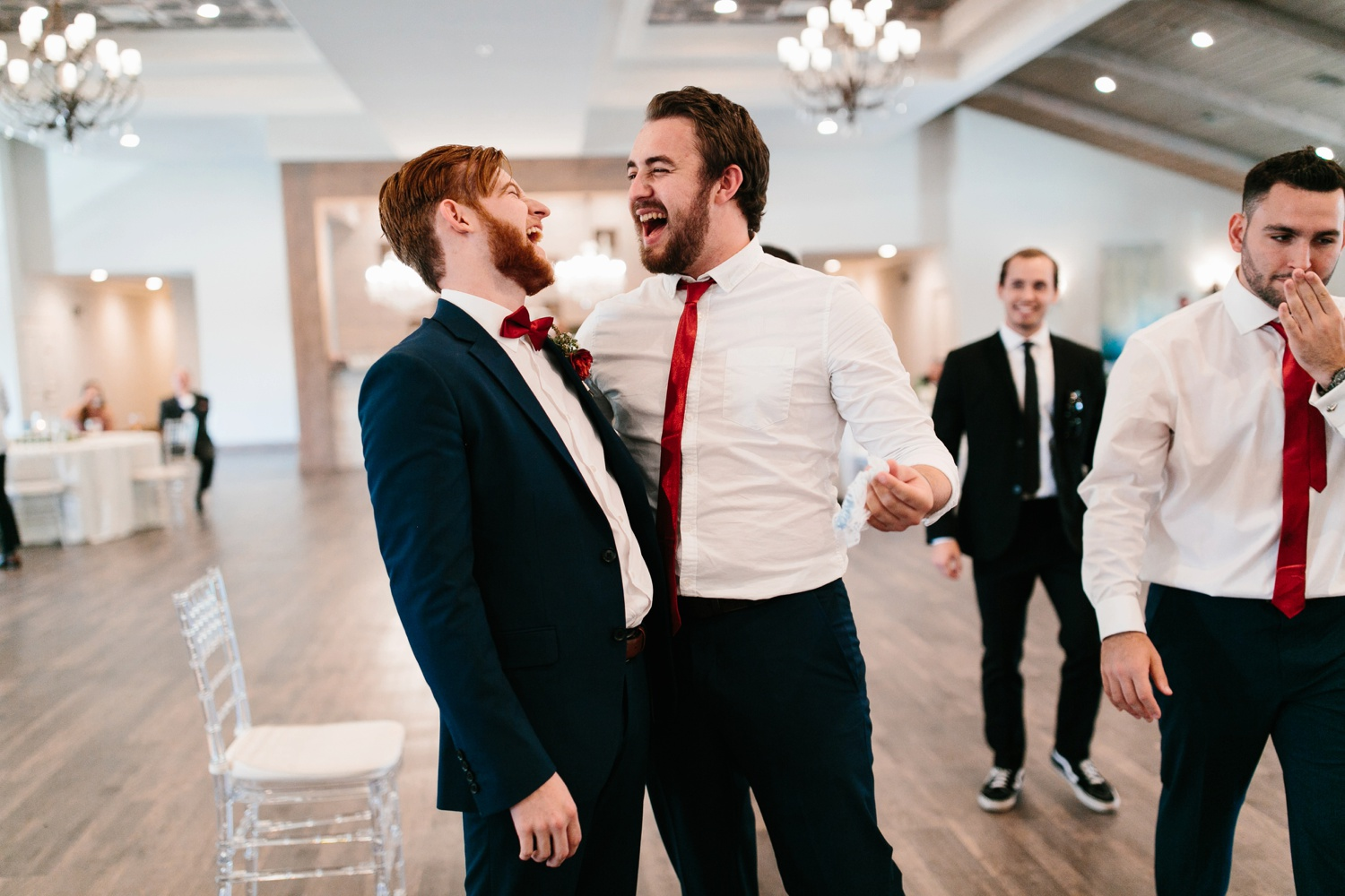 Grant + Lysette | a vibrant, deep burgundy and navy, and mixed metals wedding at Hidden Pines Chapel by North Texas Wedding Photographer Rachel Meagan Photography 175
