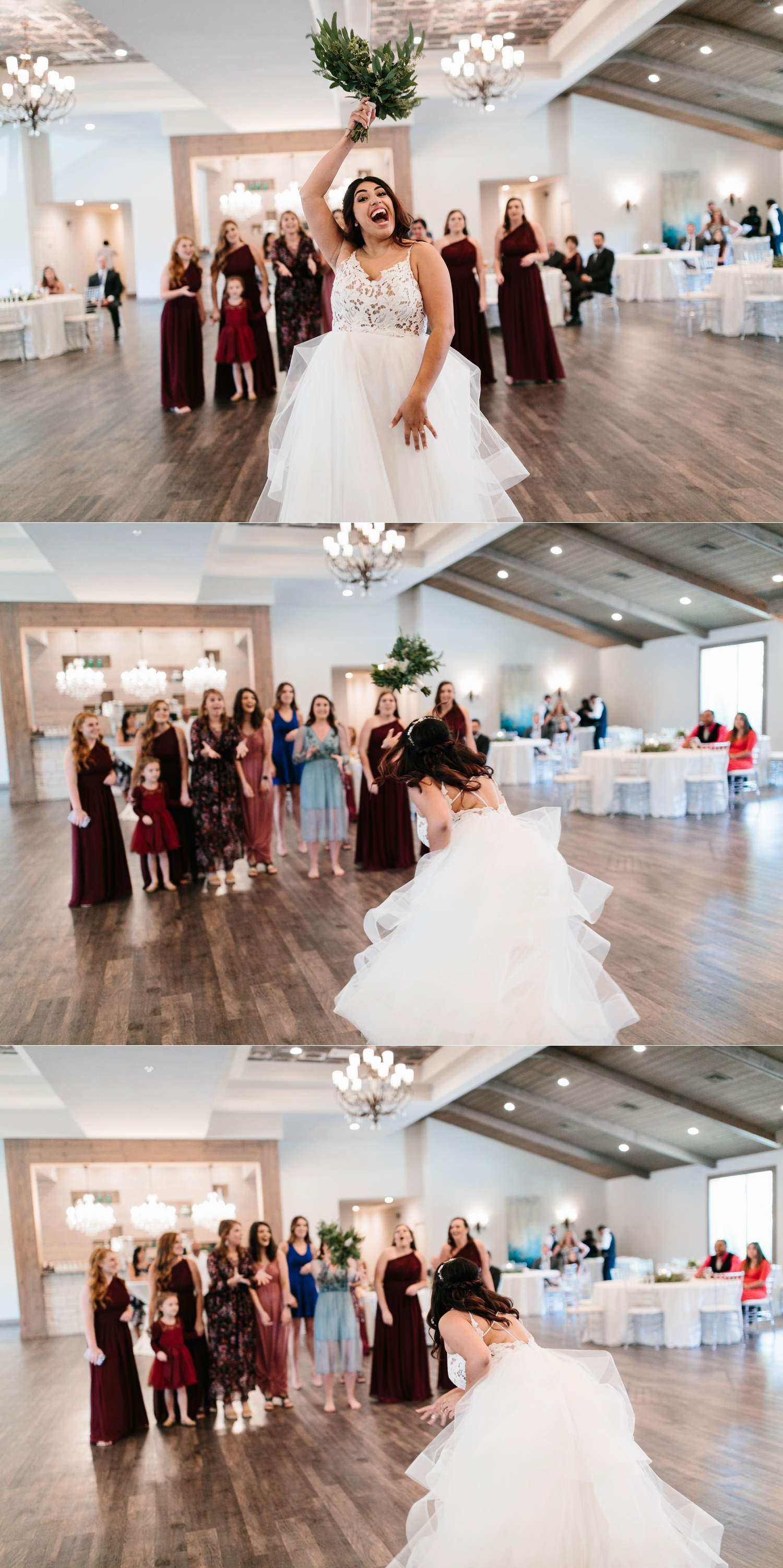 Grant + Lysette | a vibrant, deep burgundy and navy, and mixed metals wedding at Hidden Pines Chapel by North Texas Wedding Photographer Rachel Meagan Photography 176