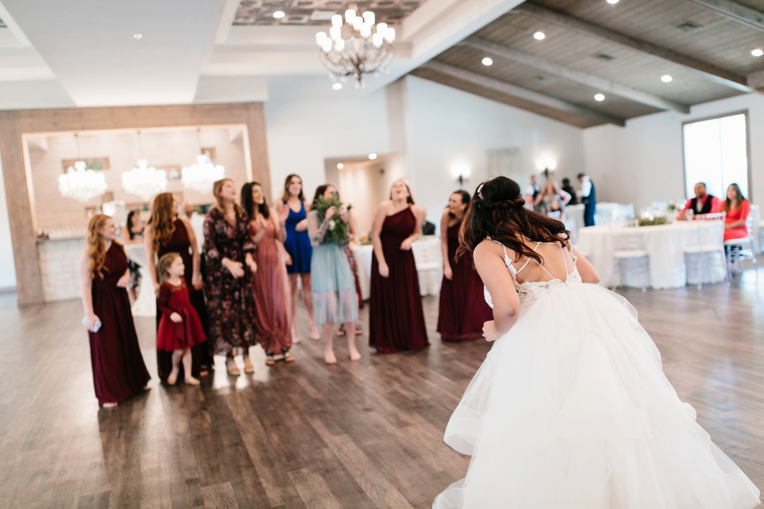 Grant + Lysette | a vibrant, deep burgundy and navy, and mixed metals wedding at Hidden Pines Chapel by North Texas Wedding Photographer Rachel Meagan Photography 177