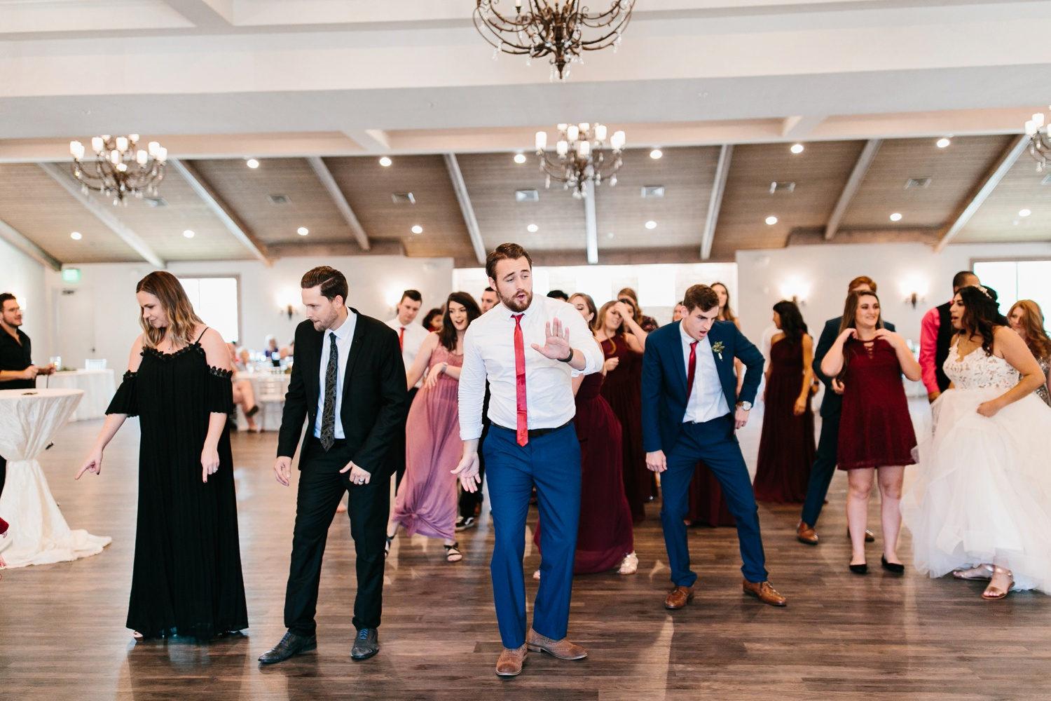 Grant + Lysette | a vibrant, deep burgundy and navy, and mixed metals wedding at Hidden Pines Chapel by North Texas Wedding Photographer Rachel Meagan Photography 180