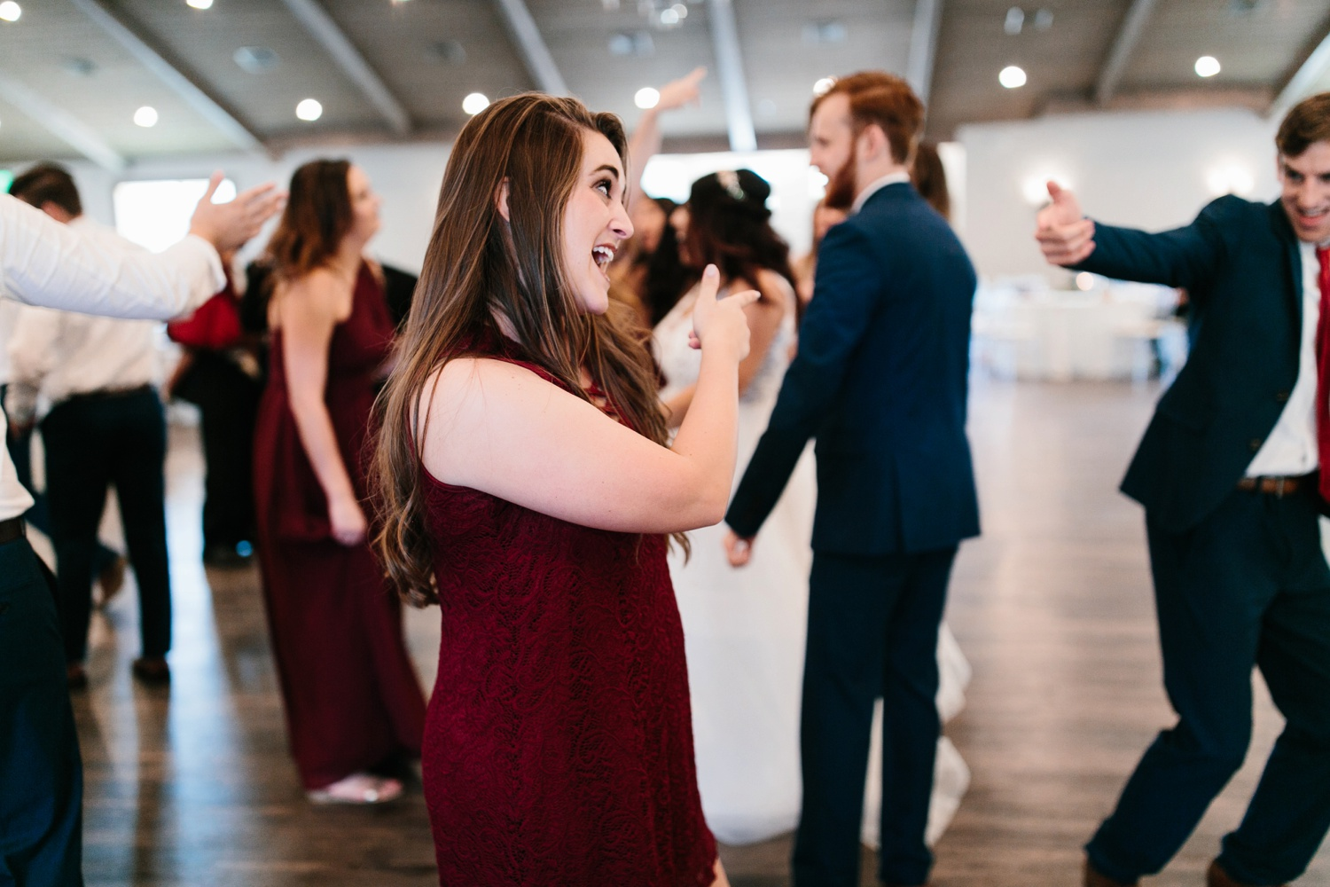 Grant + Lysette | a vibrant, deep burgundy and navy, and mixed metals wedding at Hidden Pines Chapel by North Texas Wedding Photographer Rachel Meagan Photography 181