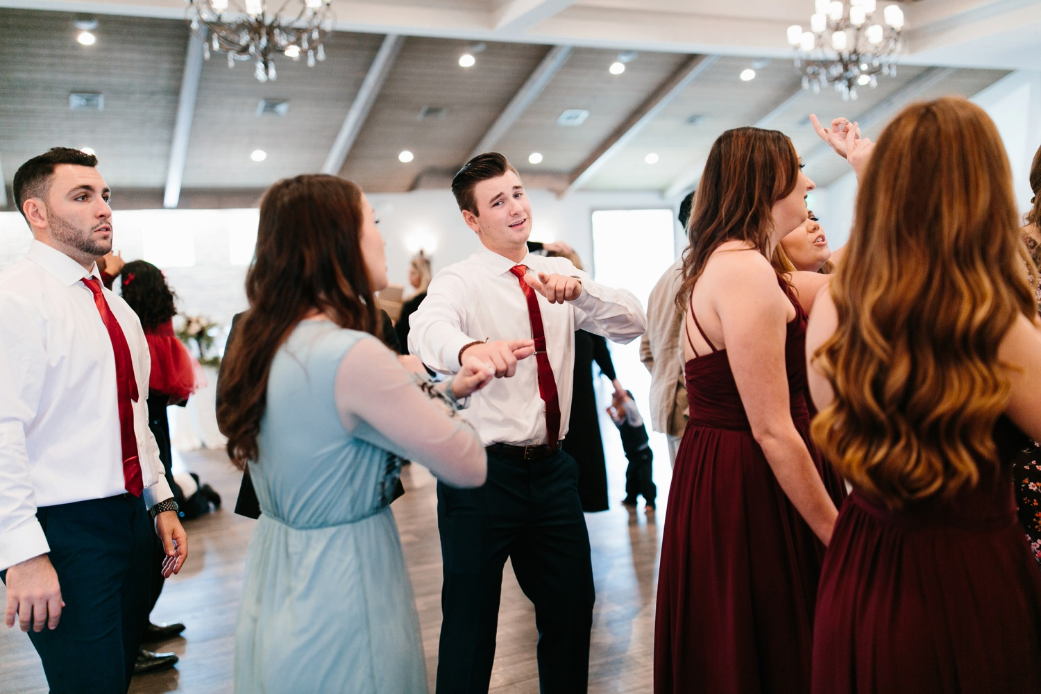 Grant + Lysette | a vibrant, deep burgundy and navy, and mixed metals wedding at Hidden Pines Chapel by North Texas Wedding Photographer Rachel Meagan Photography 184