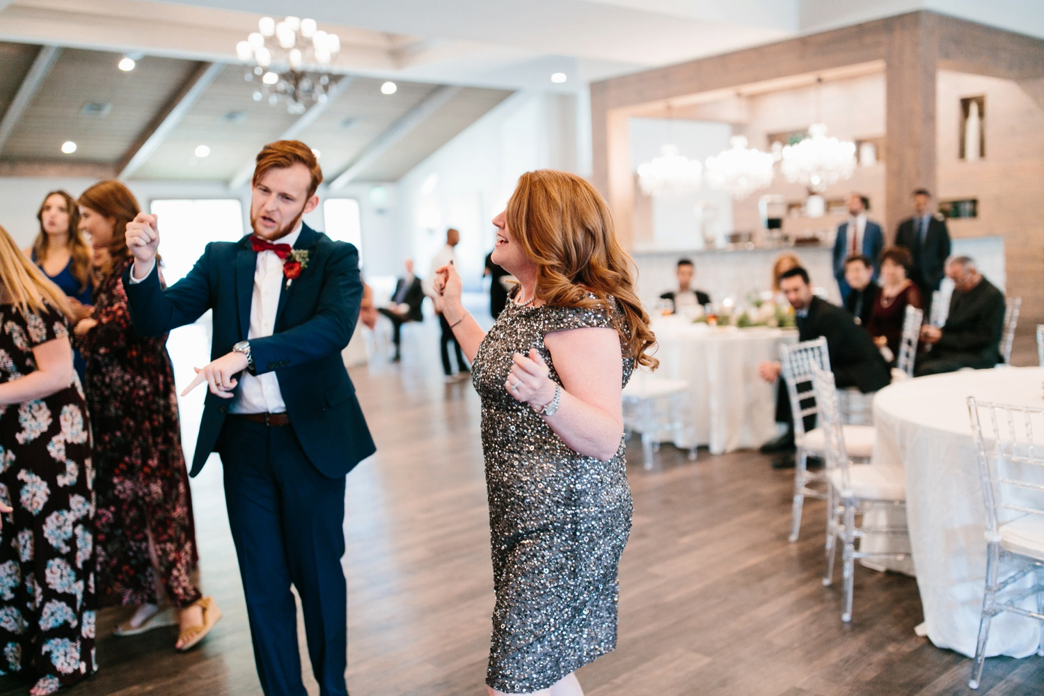 Grant + Lysette | a vibrant, deep burgundy and navy, and mixed metals wedding at Hidden Pines Chapel by North Texas Wedding Photographer Rachel Meagan Photography 187