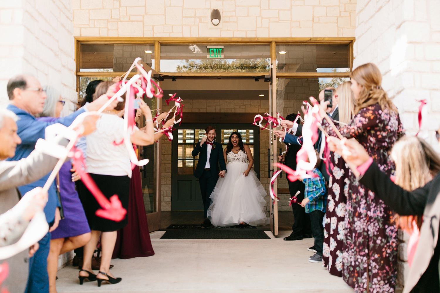 Grant + Lysette | a vibrant, deep burgundy and navy, and mixed metals wedding at Hidden Pines Chapel by North Texas Wedding Photographer Rachel Meagan Photography 189