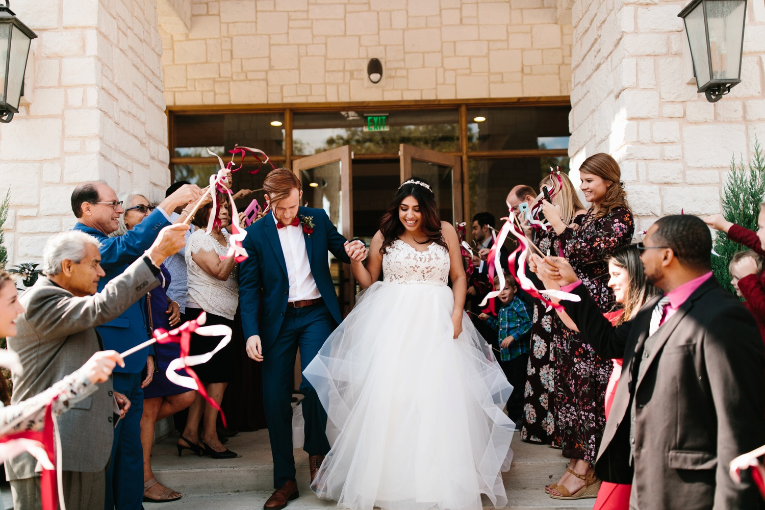 Grant + Lysette | a vibrant, deep burgundy and navy, and mixed metals wedding at Hidden Pines Chapel by North Texas Wedding Photographer Rachel Meagan Photography 190