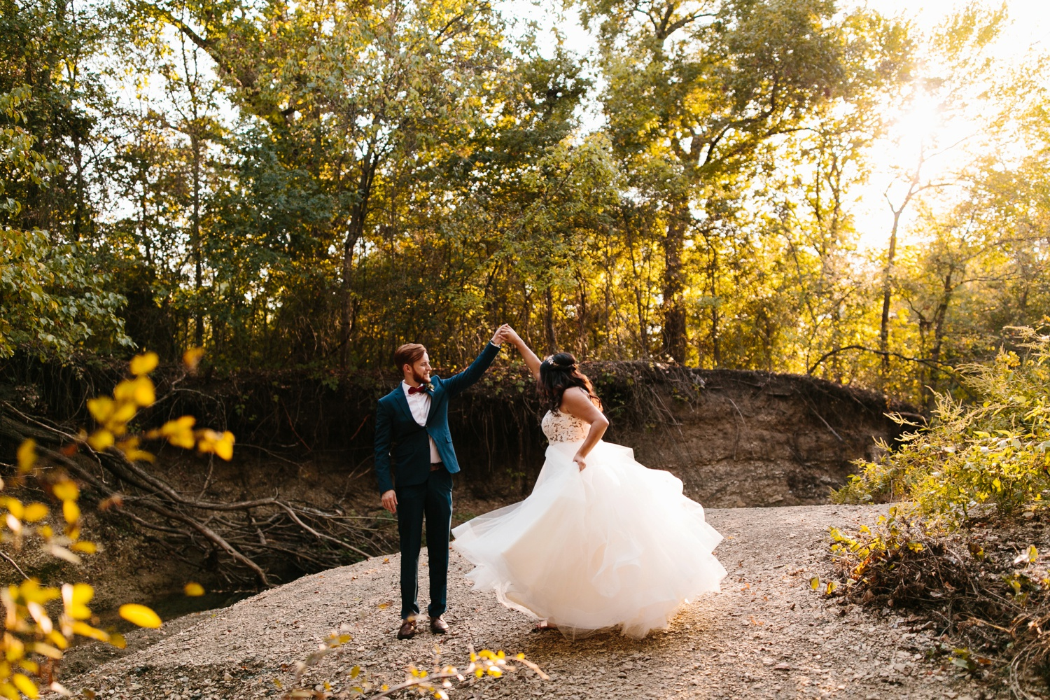 Grant + Lysette | a vibrant, deep burgundy and navy, and mixed metals wedding at Hidden Pines Chapel by North Texas Wedding Photographer Rachel Meagan Photography 196