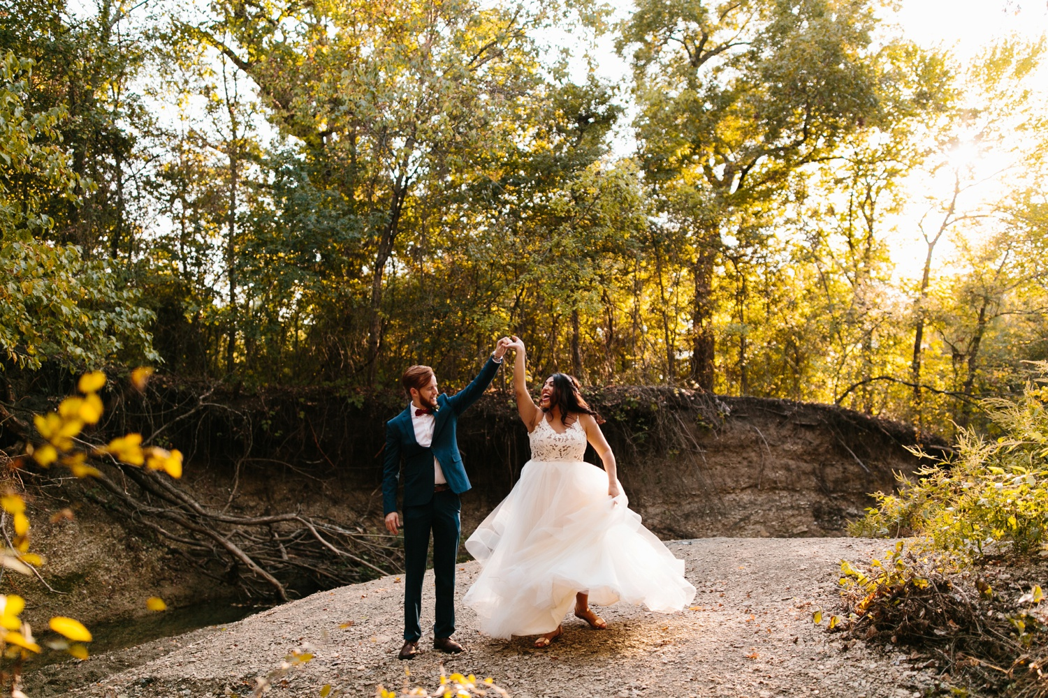 Grant + Lysette | a vibrant, deep burgundy and navy, and mixed metals wedding at Hidden Pines Chapel by North Texas Wedding Photographer Rachel Meagan Photography 197