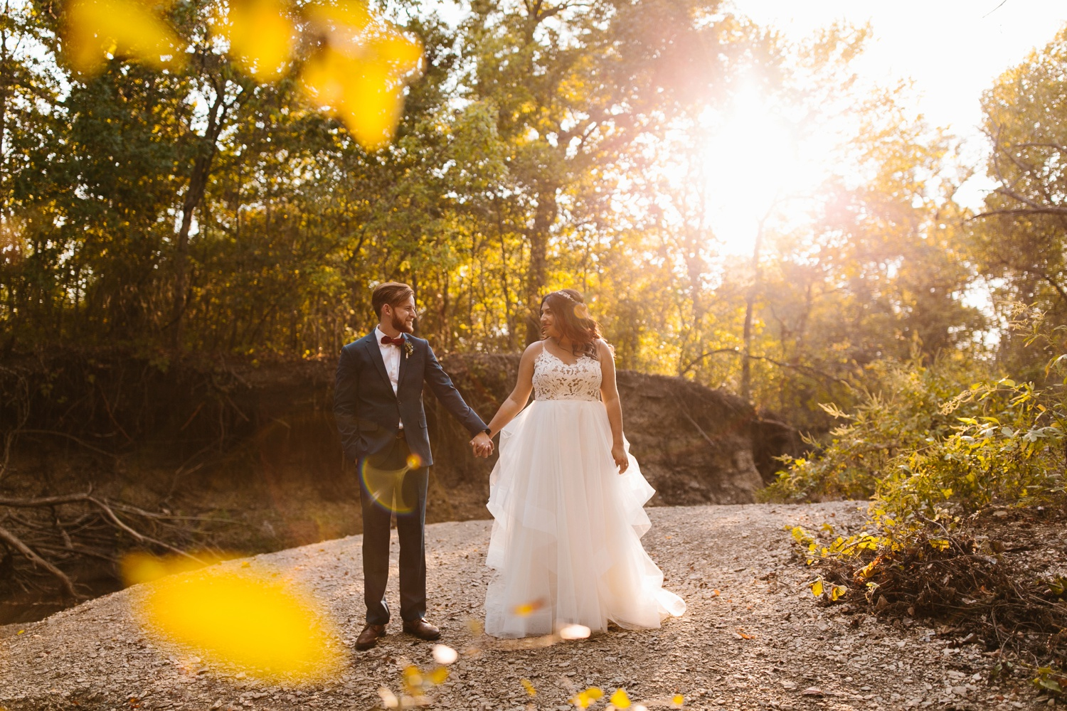Grant + Lysette | a vibrant, deep burgundy and navy, and mixed metals wedding at Hidden Pines Chapel by North Texas Wedding Photographer Rachel Meagan Photography 200