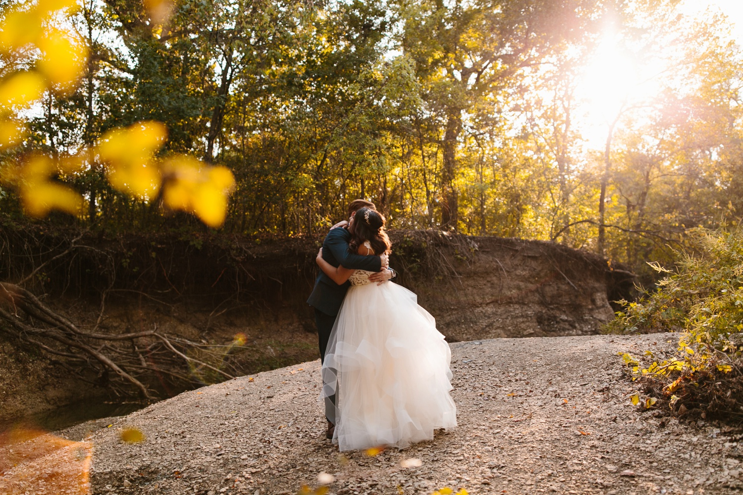 Grant + Lysette | a vibrant, deep burgundy and navy, and mixed metals wedding at Hidden Pines Chapel by North Texas Wedding Photographer Rachel Meagan Photography 201