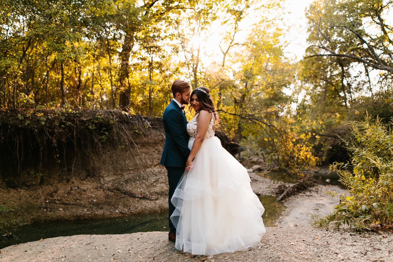 Grant + Lysette | a vibrant, deep burgundy and navy, and mixed metals wedding at Hidden Pines Chapel by North Texas Wedding Photographer Rachel Meagan Photography 203