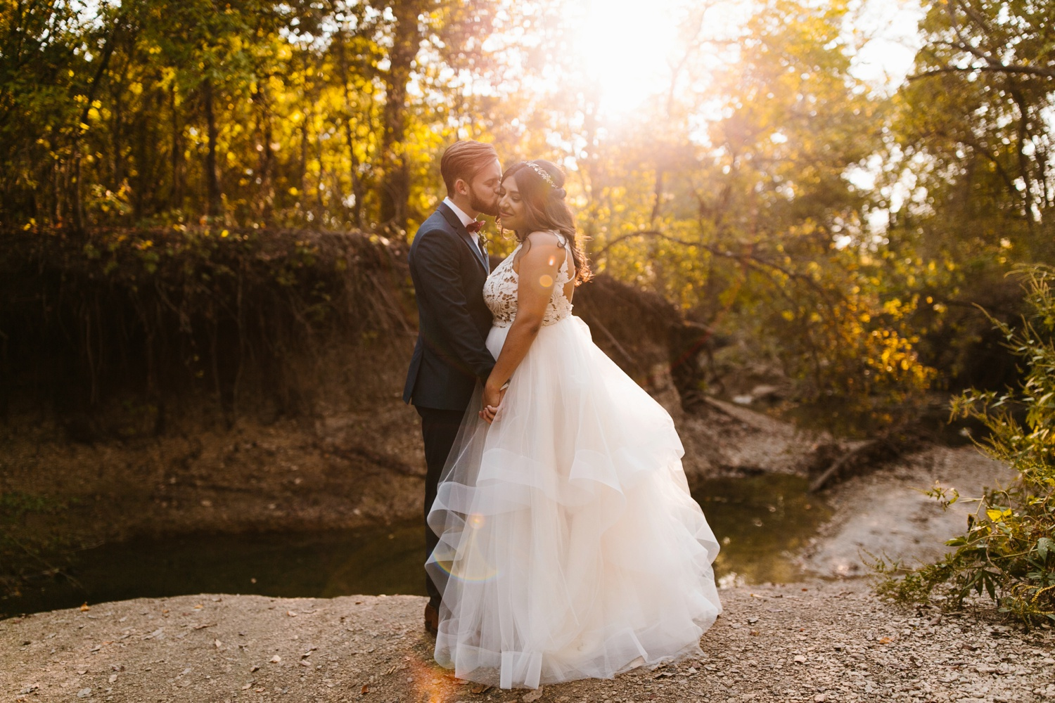 Grant + Lysette | a vibrant, deep burgundy and navy, and mixed metals wedding at Hidden Pines Chapel by North Texas Wedding Photographer Rachel Meagan Photography 204