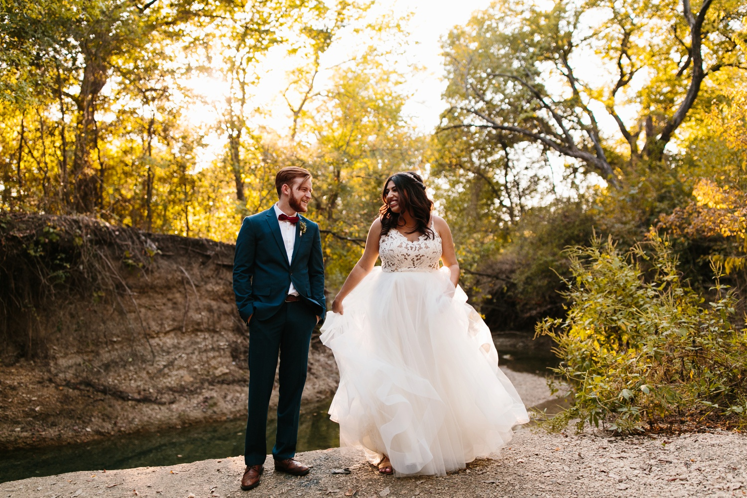 Grant + Lysette | a vibrant, deep burgundy and navy, and mixed metals wedding at Hidden Pines Chapel by North Texas Wedding Photographer Rachel Meagan Photography 206