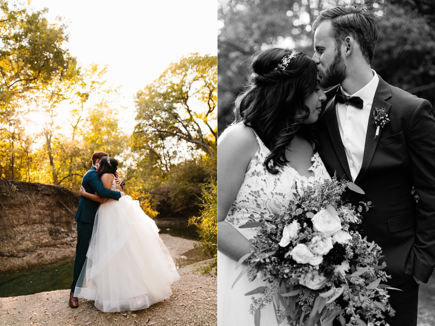 Grant + Lysette | a vibrant, deep burgundy and navy, and mixed metals wedding at Hidden Pines Chapel by North Texas Wedding Photographer Rachel Meagan Photography 207