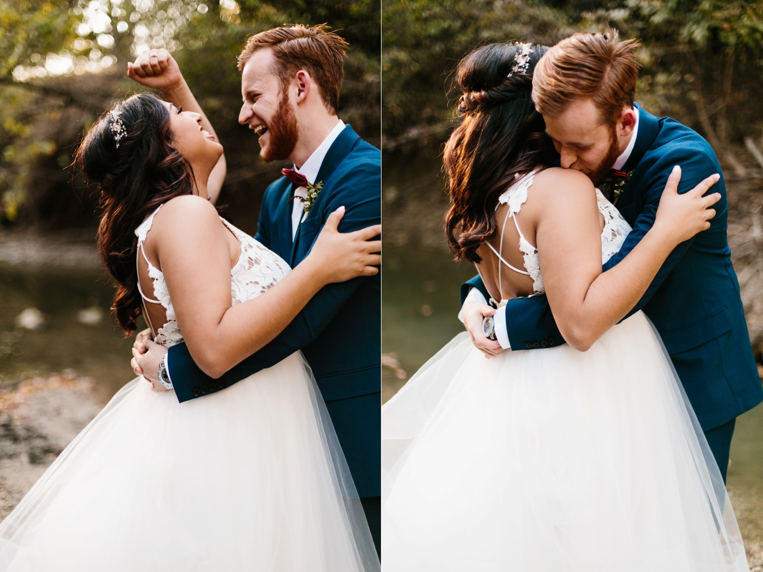 Grant + Lysette | a vibrant, deep burgundy and navy, and mixed metals wedding at Hidden Pines Chapel by North Texas Wedding Photographer Rachel Meagan Photography 211
