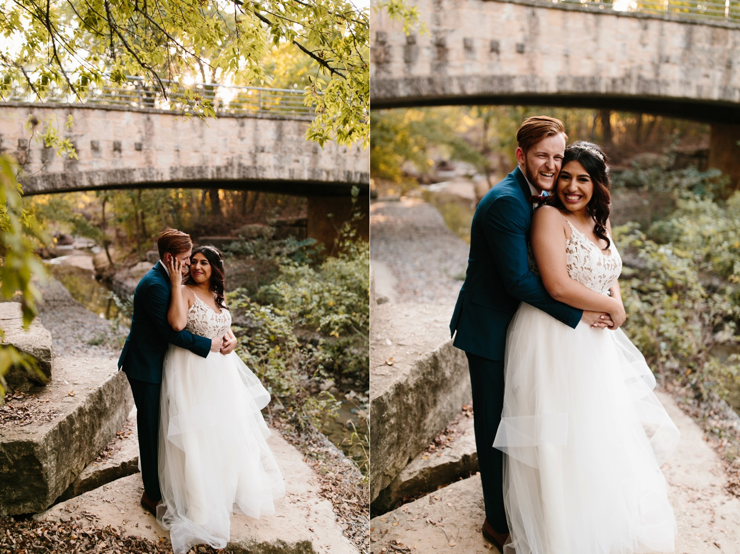 Grant + Lysette | a vibrant, deep burgundy and navy, and mixed metals wedding at Hidden Pines Chapel by North Texas Wedding Photographer Rachel Meagan Photography 212