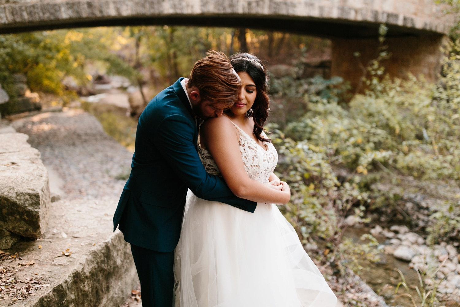 Grant + Lysette | a vibrant, deep burgundy and navy, and mixed metals wedding at Hidden Pines Chapel by North Texas Wedding Photographer Rachel Meagan Photography 213