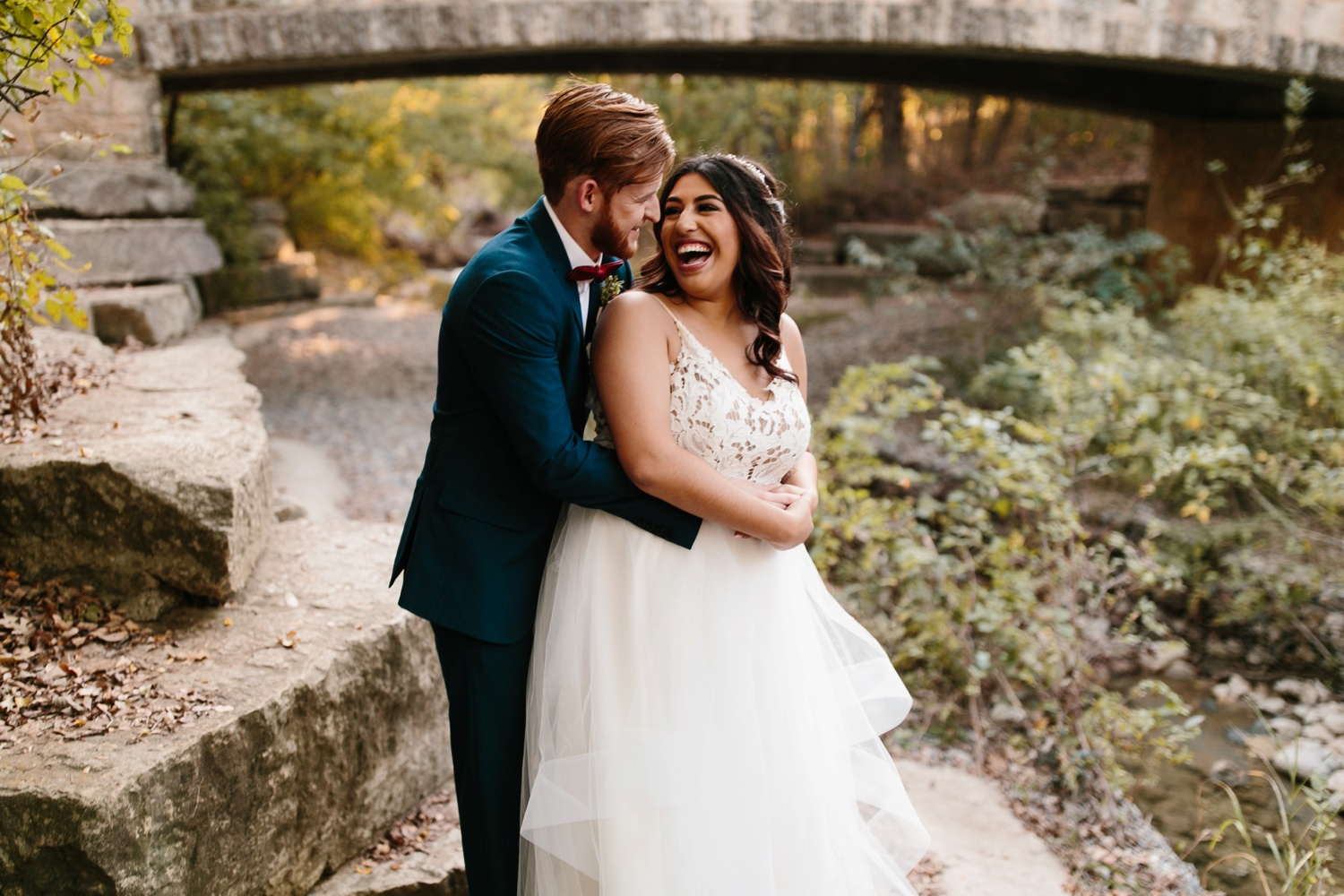 Grant + Lysette | a vibrant, deep burgundy and navy, and mixed metals wedding at Hidden Pines Chapel by North Texas Wedding Photographer Rachel Meagan Photography 214