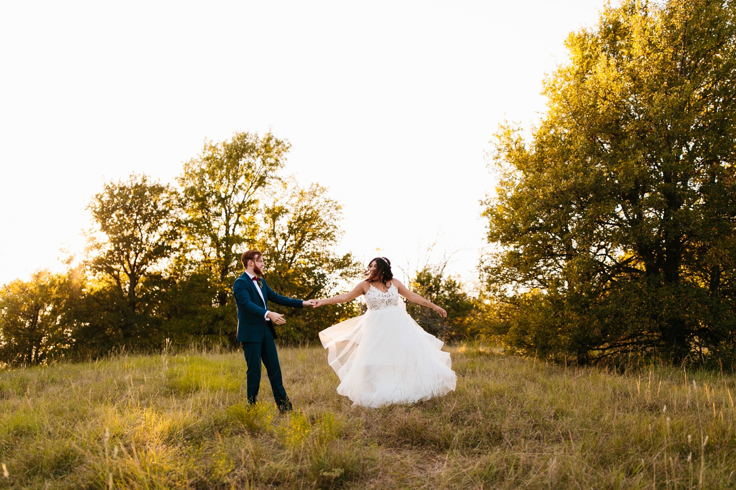 Grant + Lysette | a vibrant, deep burgundy and navy, and mixed metals wedding at Hidden Pines Chapel by North Texas Wedding Photographer Rachel Meagan Photography 218