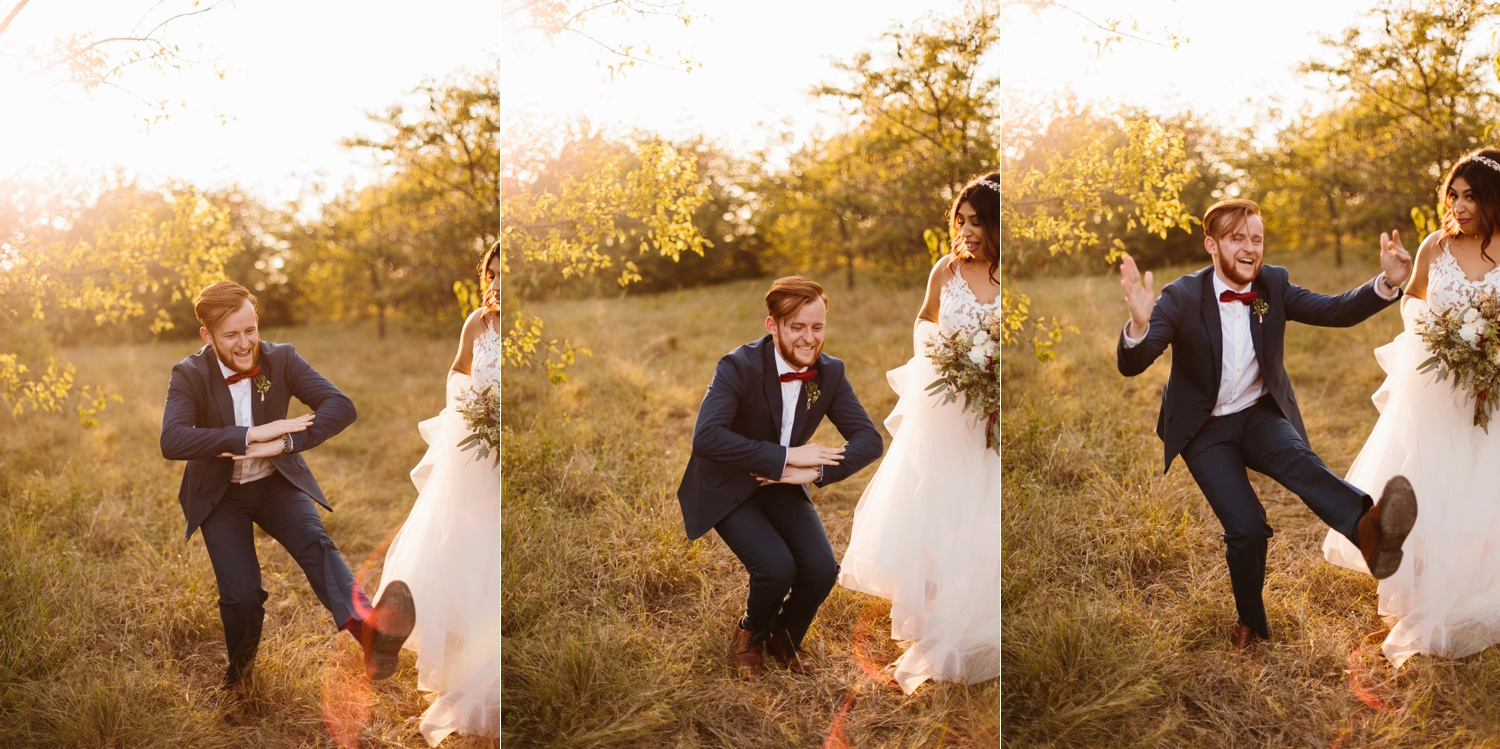Grant + Lysette | a vibrant, deep burgundy and navy, and mixed metals wedding at Hidden Pines Chapel by North Texas Wedding Photographer Rachel Meagan Photography 222