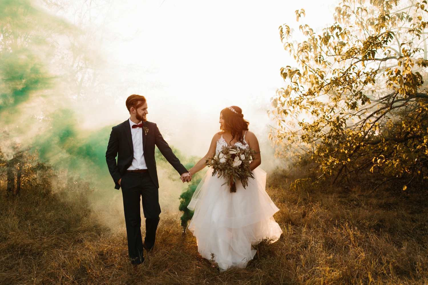 Grant + Lysette | a vibrant, deep burgundy and navy, and mixed metals wedding at Hidden Pines Chapel by North Texas Wedding Photographer Rachel Meagan Photography 224